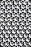 Raw plastic material gray granules Stock Image