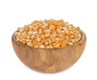 Raw popcorn Stock Image