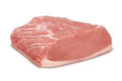 Raw pork. Royalty Free Stock Images