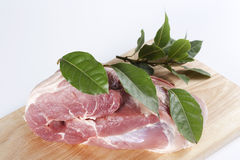 Raw pork Stock Image