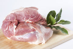 Raw pork stock photos