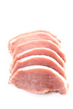 Raw pork Royalty Free Stock Photo