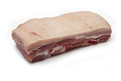 Raw Pork Belly joint Royalty Free Stock Photography