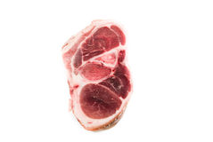 Raw pork chop Stock Images