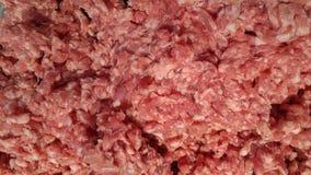 Fresh raw pork chops at butcher shop Stock Photography