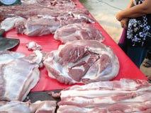 Raw pork Royalty Free Stock Photos