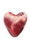 Raw Pork Heart Stock Images