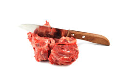 Raw pork Royalty Free Stock Image