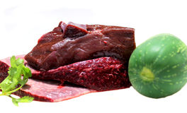 Raw pork liver Royalty Free Stock Photo