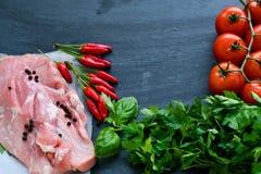 Free Raw Pork Meat Royalty Free Stock Image - 105400496