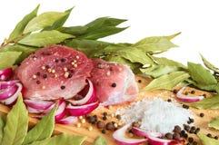 Raw pork meat Stock Photo