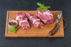 Raw pork meat Royalty Free Stock Photography
