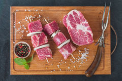 Raw pork meat Royalty Free Stock Image
