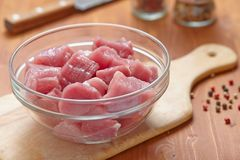 Raw pork meat Royalty Free Stock Photo