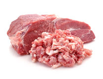 Raw pork meat Stock Image