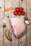 Raw pork meat Royalty Free Stock Photos