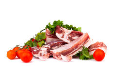 Raw Pork Ribs Stock Photography