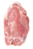 Raw pork stake Royalty Free Stock Image