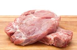 Raw pork stake Stock Photography