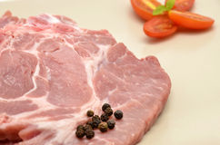 Raw pork Royalty Free Stock Image