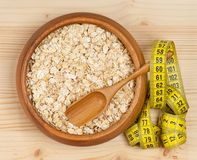 Raw porridge Royalty Free Stock Images