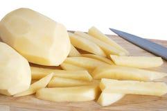 Raw potato Stock Images