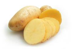 Raw potato isolated on white Stock Photography