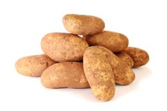 Raw Potatoe Heap Stock Photography