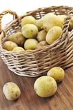 Raw potatoes Royalty Free Stock Photography