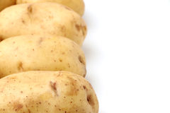 Raw Potatoes Royalty Free Stock Photo