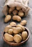 Raw potatoes Royalty Free Stock Image