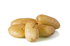 Raw potatos Royalty Free Stock Image