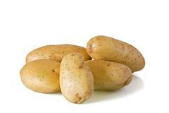 Raw potatos Royalty Free Stock Image