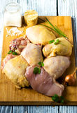 Raw Poultry meat Stock Photography