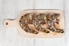 Raw prawns tail Royalty Free Stock Photos