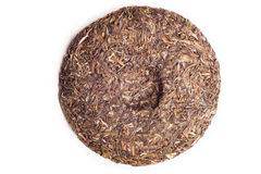 Raw Puer tea Royalty Free Stock Photos