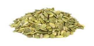Raw pumpkin seeds Stock Images