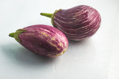 Raw Purple Eggplant Royalty Free Stock Image