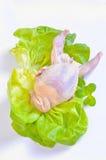 Raw quail Royalty Free Stock Photography