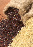 Raw Quinoa Grains Royalty Free Stock Images
