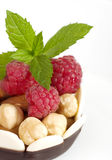 Raw raspberry Royalty Free Stock Photo