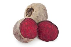 Raw red beetroots Stock Photo