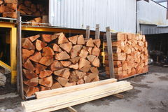 Raw Red Cedar Shakes Stock Images