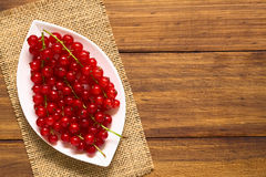 Raw Red Currants Royalty Free Stock Photo