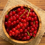 Raw Red Currants Royalty Free Stock Images