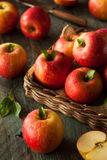 Raw Red Fuji Apples Stock Photo