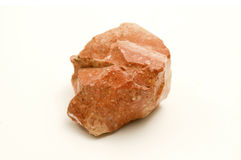Raw red jasper Stock Photo