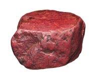 Raw red jasper Stock Photography