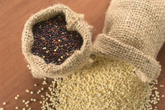 Raw Red Quinoa Royalty Free Stock Images