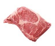 Raw Rib Eye steak Stock Image
